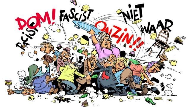 fascisten ruzie