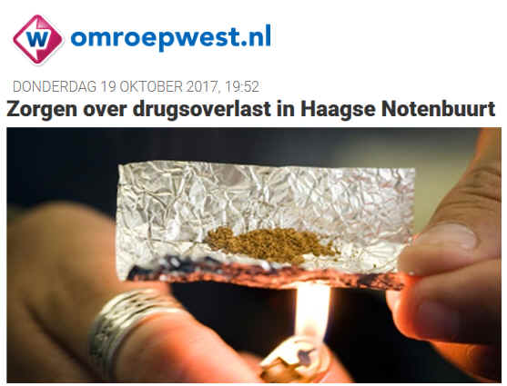 drugs notenbuurt
